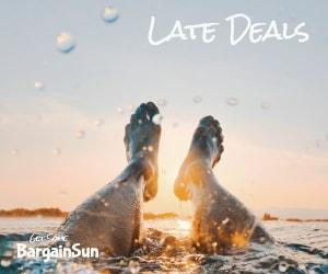 Bargain Sun Late Deals Holidays